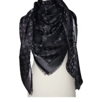 "Louis Vuitton Scarf ""Monogram shine"" - Buy Second hand ..."