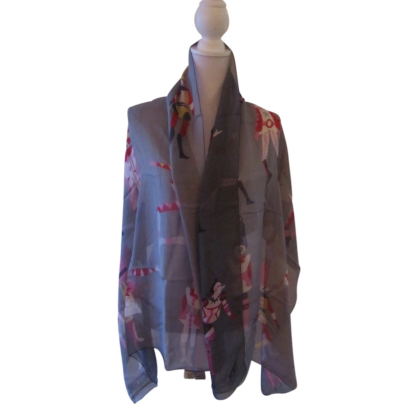 Moschino Cheap and Chic silk scarf