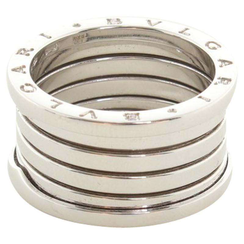 Bulgari Ring aus 750er Weissgold  Second Hand Bulgari