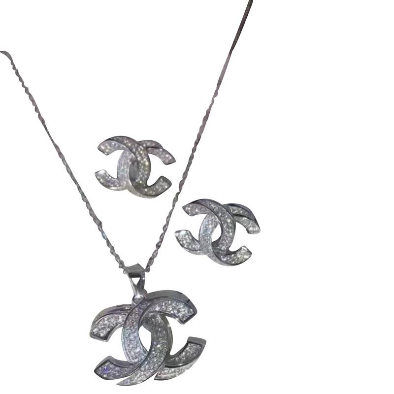 Chanel Earrings & Necklace