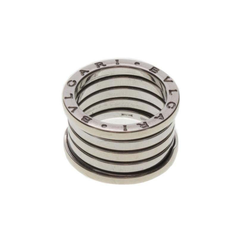 Bulgari Ring aus Weigold  Second Hand Bulgari Ring aus