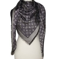 Louis Vuitton Monogram Denim shawl - Buy Second hand Louis ...