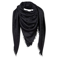 Louis Vuitton Monogram Black Shawl - Buy Second hand Louis ...