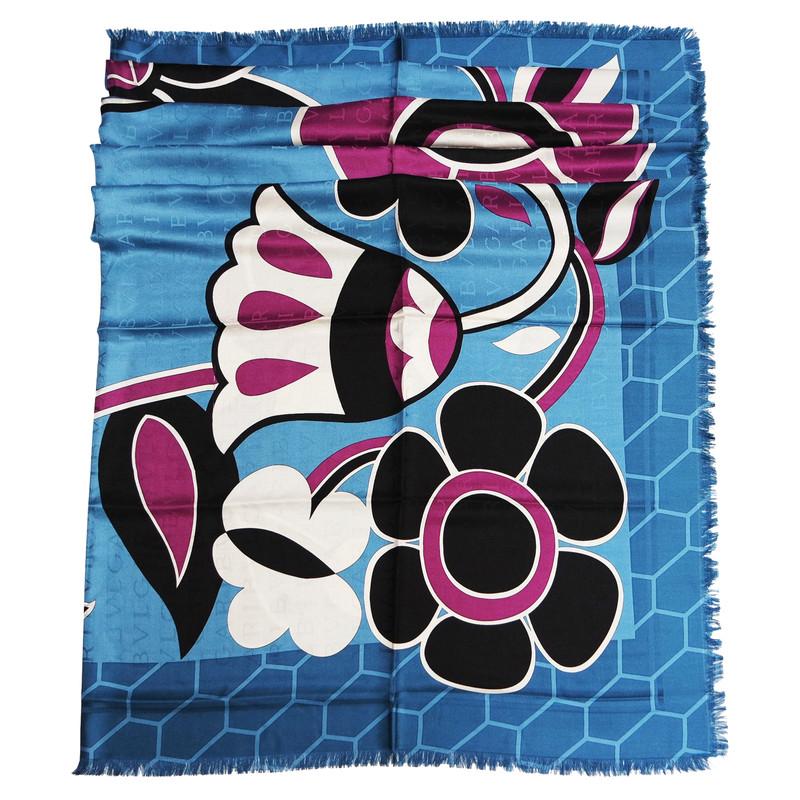 Bulgari silk scarf