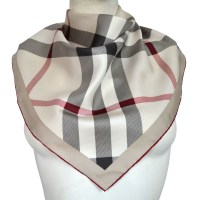 Burberry Silk scarf with check pattern - Buy Second hand ...