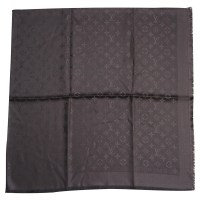 Louis Vuitton SHAWL LOUIS VUITTON MONOGRAM ANTHRACITE ...