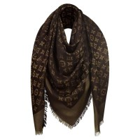 Louis Vuitton Scarf Monogram in brown - Buy Second hand ...