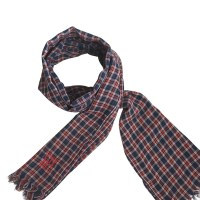 Carolina Herrera Red and blue scarf - Buy Second hand ...