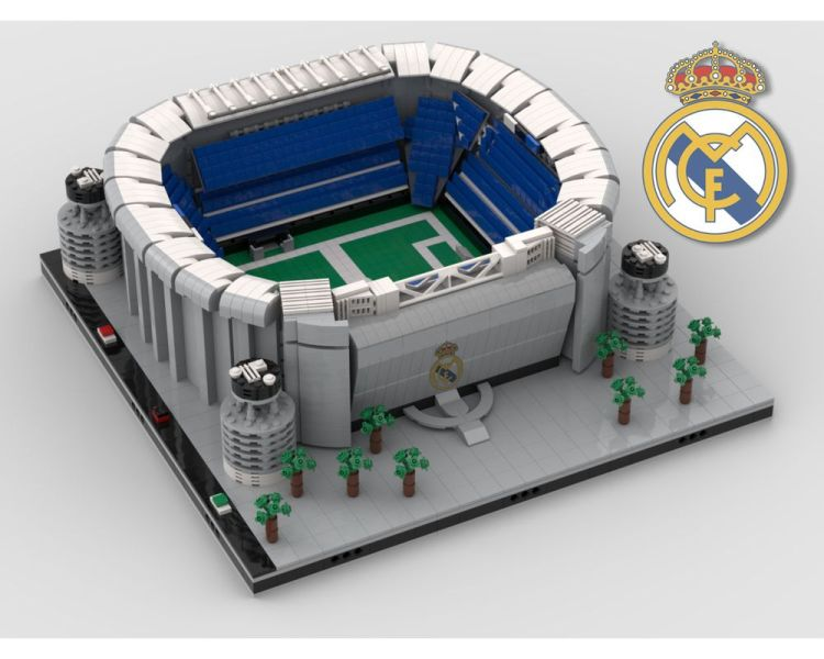 LEGO MOC-35403 Santiago Bernabéu Stadium - Real Madrid ...