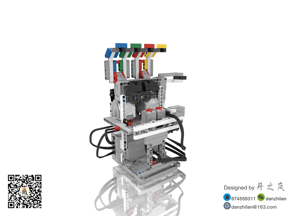 LEGO MOC-7557 EV3 Manipulator (Mindstorms > EV3 2017