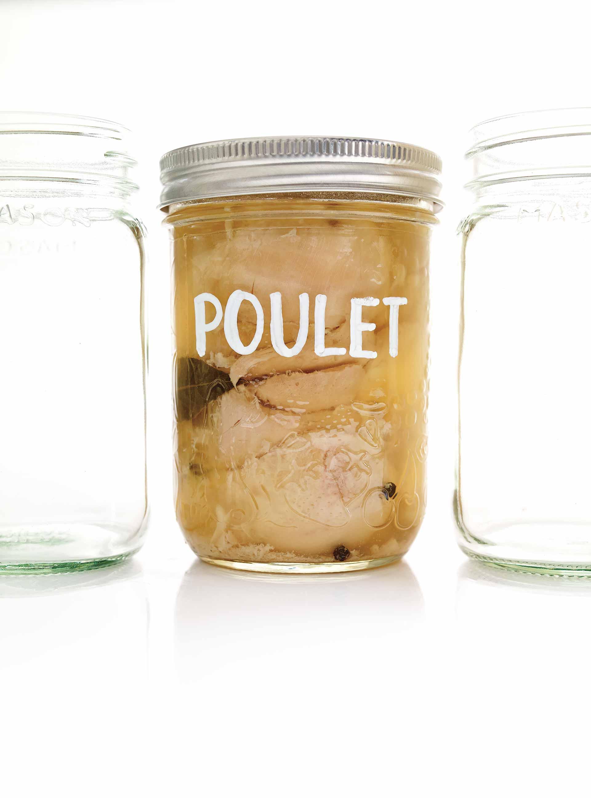Temps De Sterilisation Bocaux Viande Cuite : temps, sterilisation, bocaux, viande, cuite, Poulet, Conserve, Ricardo
