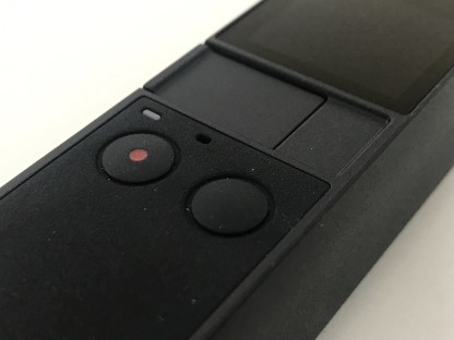 The only 2 buttons on the Osmo Pocket