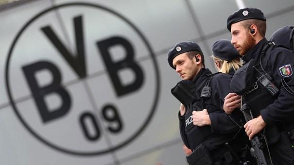 Segurança máxima em Dortmund antes do jogo