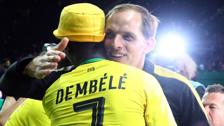 Dembélé lamenta a saída do treinador Thomas Tuchel