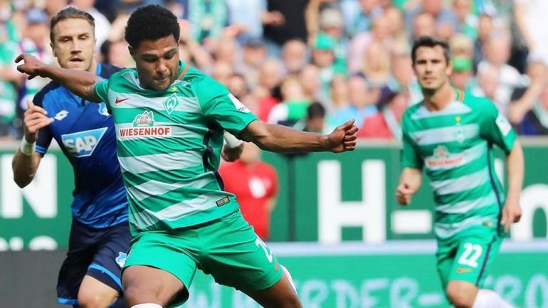 Serge Gnabry vai abandonar o Werder Bremen