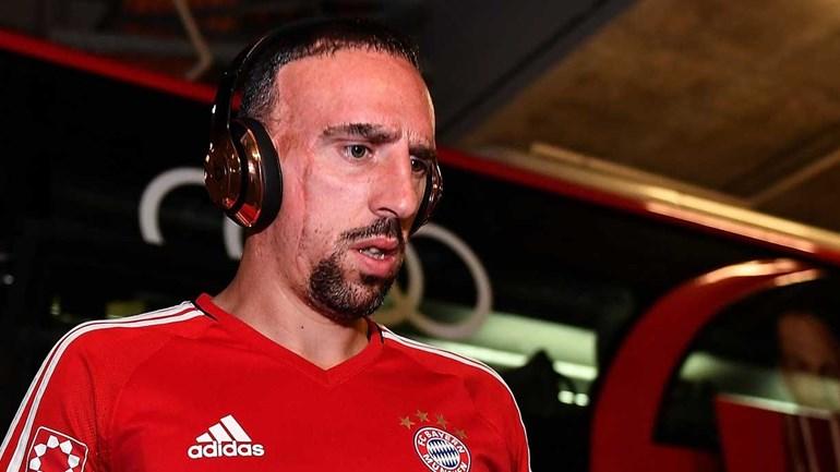Ribéry conta como cicatriz marcou a sua infância