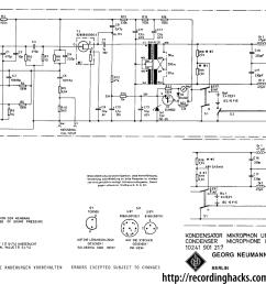 neumann u 87 recordinghacks com circuit diagram also on neumann condenser microphone circuit diagram [ 1600 x 1118 Pixel ]