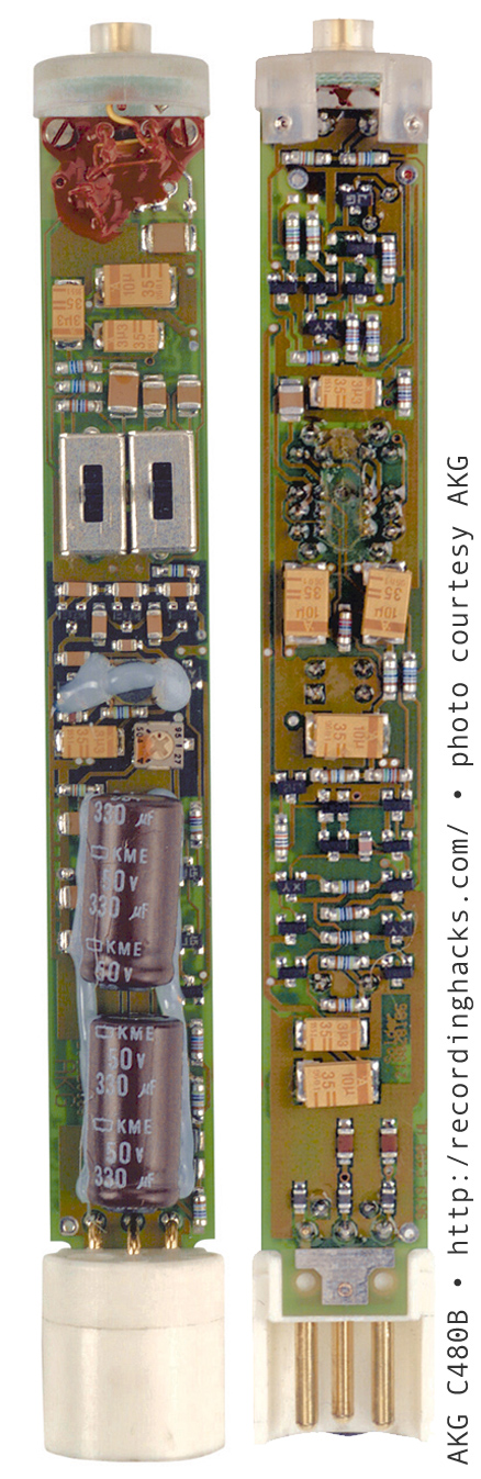 Dynamic Microphone Preamplifier Using C945 Transistor Circuit