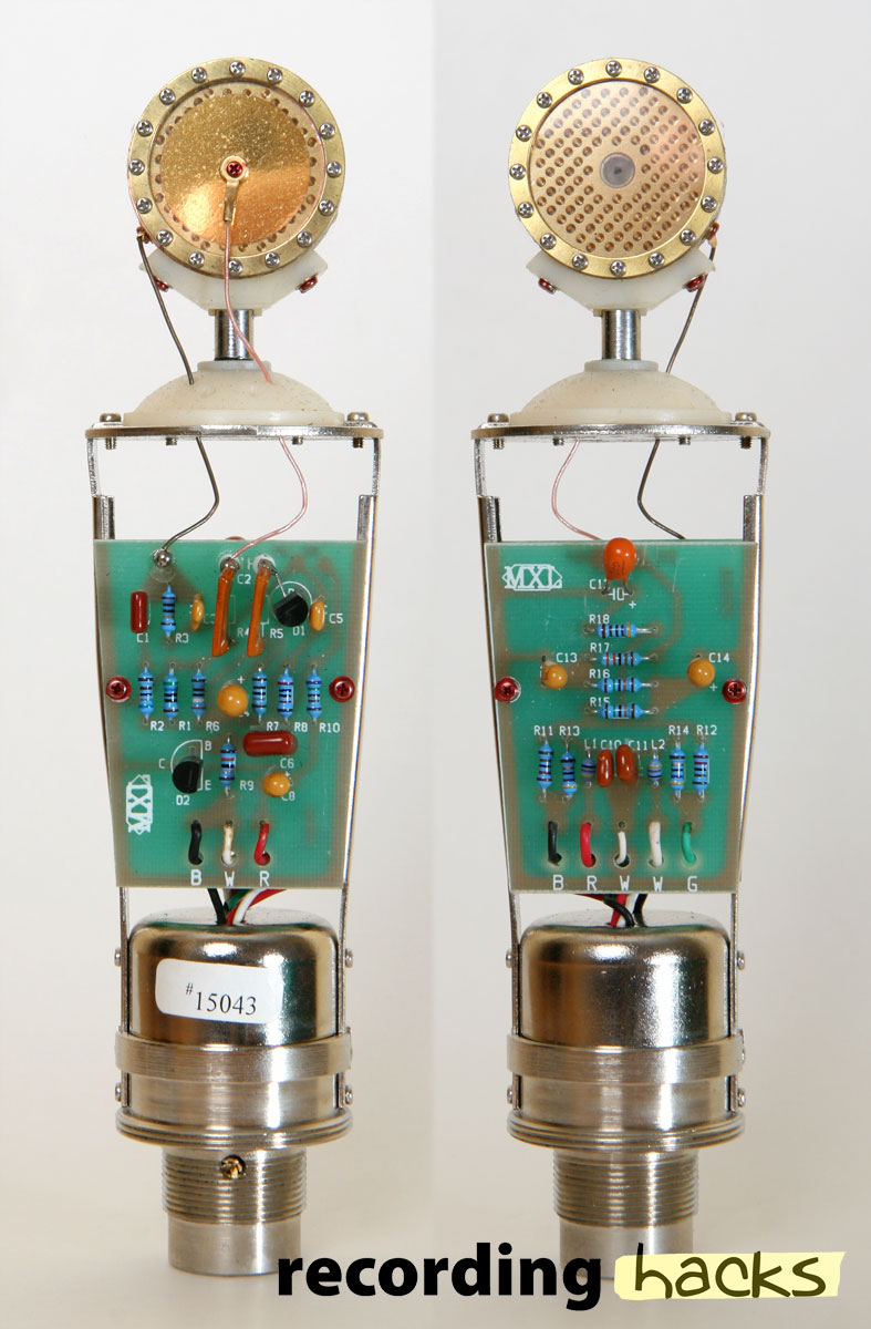 Schematic Circuit Diagram For A Condenser Microphone Capsule