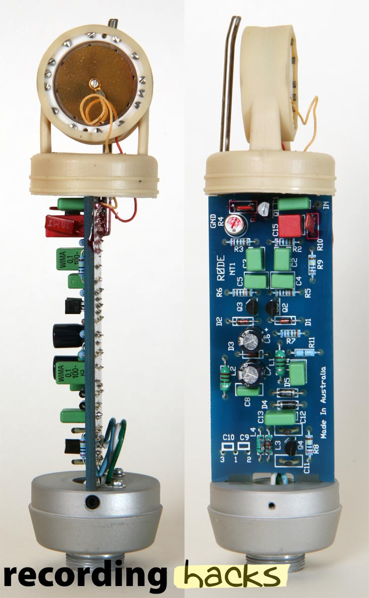 Condenser Mic Amplifier Circuit