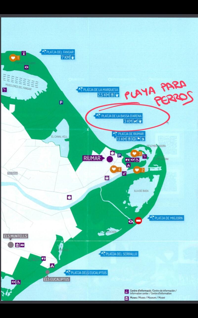 Playa de Riumar Admite Perros  RedCaninaes