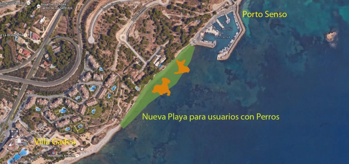 Playa para Perros en Altea  RedCaninaes