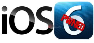 iOS 6 pwned clean