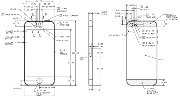 iphone 5 diagram Gallery