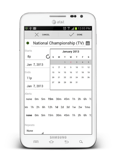 Agenda Calendar For Android Is The Most To-The-Point