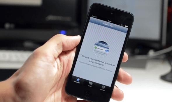 WhatsApp iPod touch 1