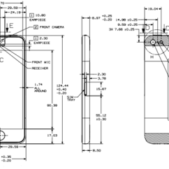 Iphone 3gs Schematic Diagram Nissan Primera P12 Audio Wiring Of 5c | Get Free Image About