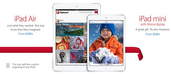 iPad mini 2 apple store
