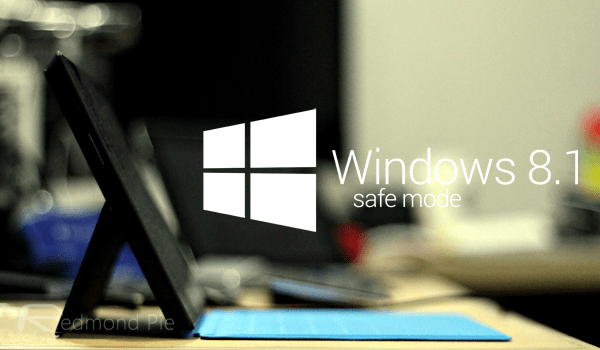 Windows 81 safe mode