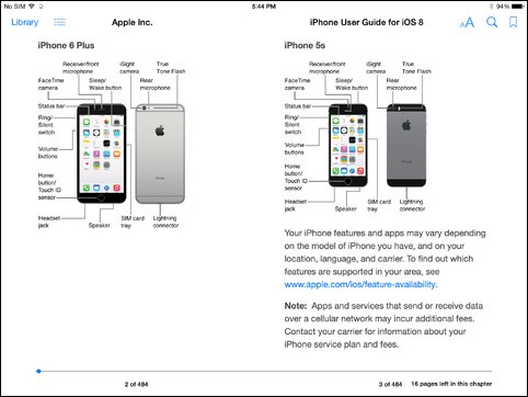 Official iOS 8 User Guide For iPhone And iPad Now