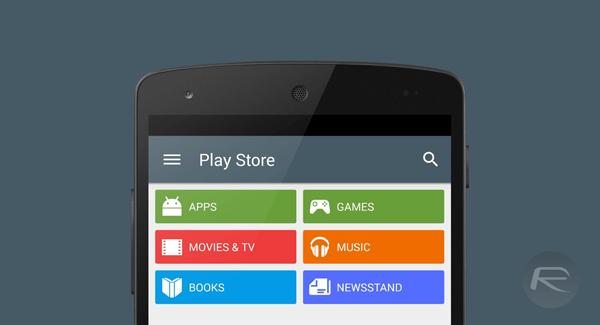 Play Store 5 nexus 5