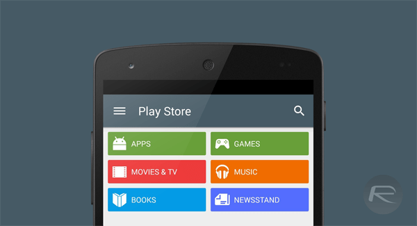 Play Store 5 nexus 5