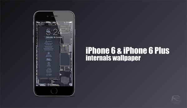 Ifixit Iphone X Wallpaper These Iphone 6 6 Plus Internals Wallpaper Will Literally