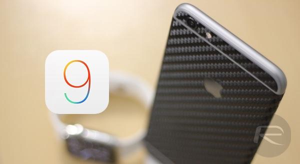 iPhone 6 Plus iOS 9 main