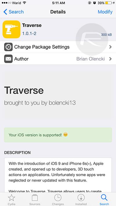 Traverse-Cydia-tweak-iOS-9