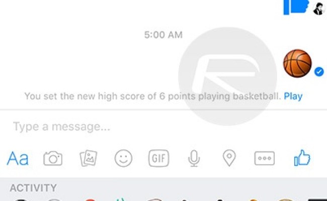 Enable And Play Facebook Messenger S Hidden Basketball