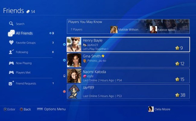 Playstation 4 4 50 Firmware Update Released Download Now