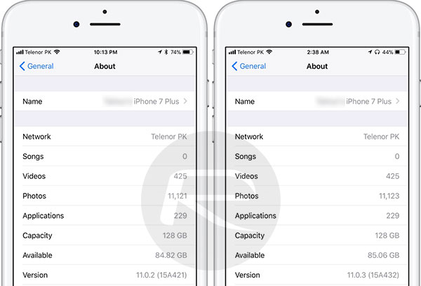 iOS 11.0.3 Vs iOS 11.0.2: New Update Can Help You Save