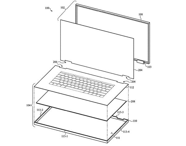 Apple MacBook Patents Envision Touch Keyboards, Invisible