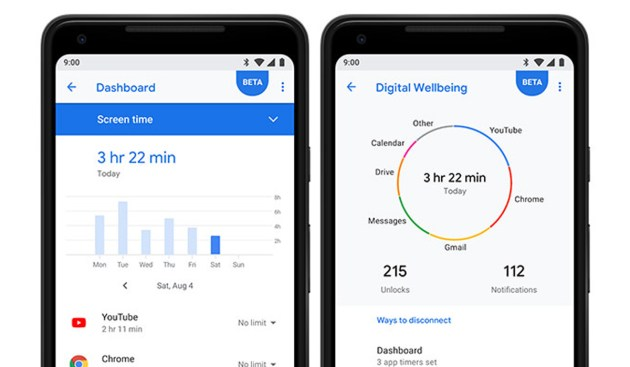 Image result for android 9 pie dashboard