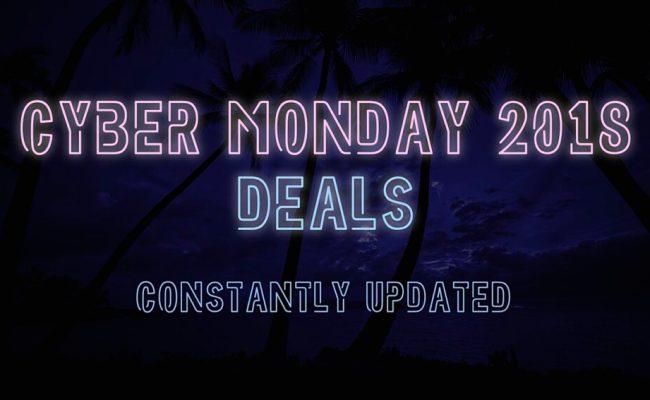 Cyber Monday 2018 Deals Hub Find The Best Tech Deals
