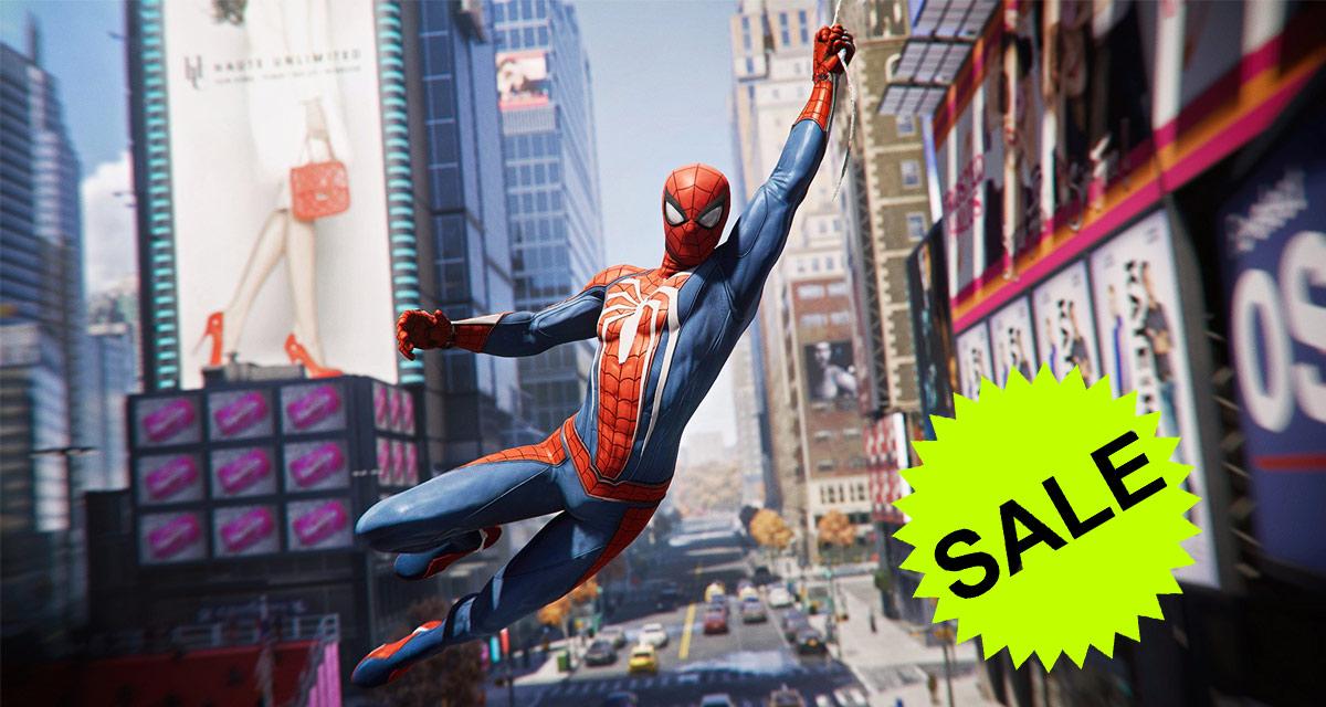 spider man sale ps4