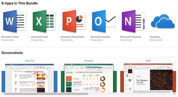 Download: Microsoft Office 365 Released On Mac App Store   Redmond Pie