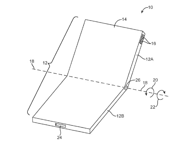Apple Already Has Revised Patent For Folding iPhone