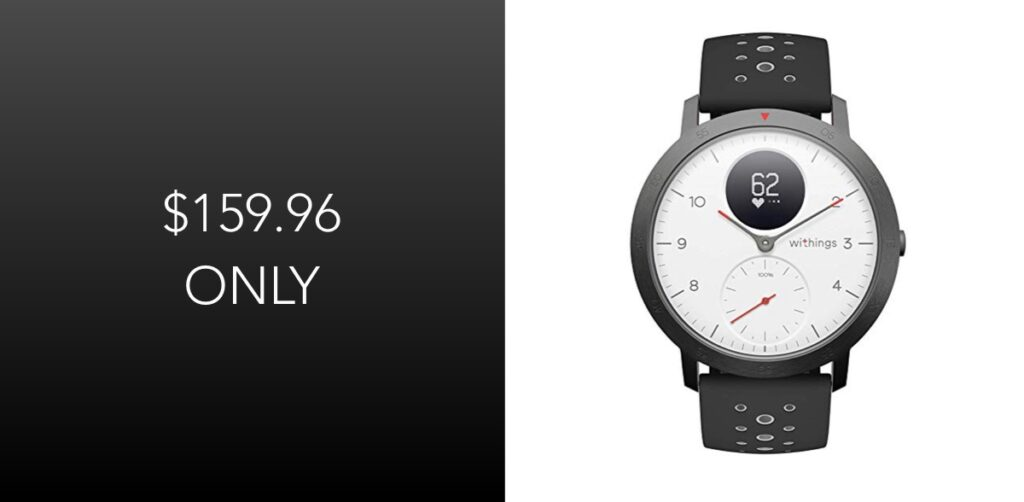Withings Steel HR Sport 'Hybrid' Smartwatch Is Available For $159.96 Today [Original Price: $200]   Redmond Pie