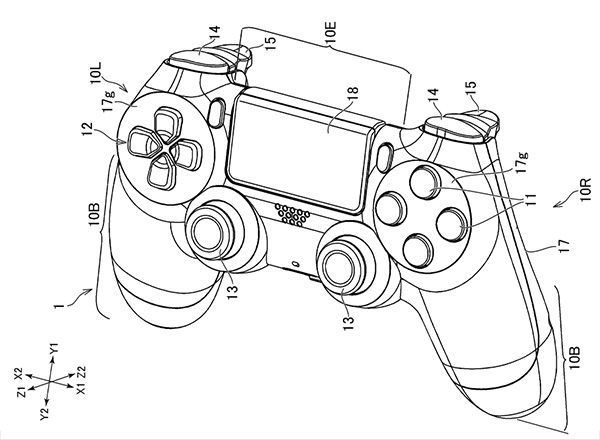 New PlayStation Controller Patent Features Rear Triggers